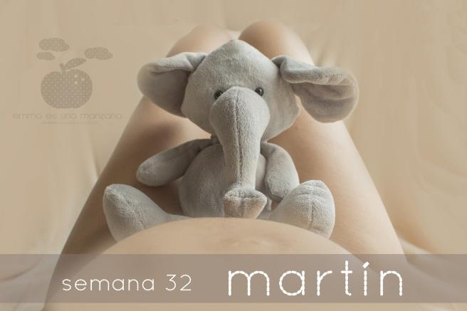 Semana 32 Martín - Emma es una manzana