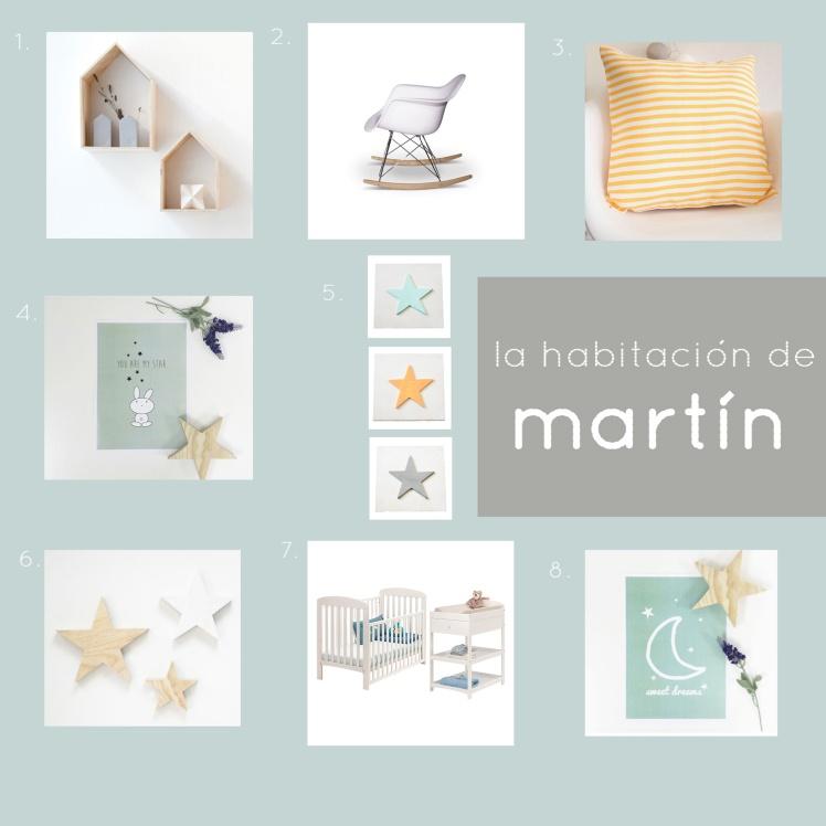 La habitación de Martín - en el blog de Emma es una manzana