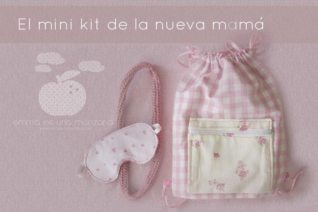 El mini kit de la nueva mamá en Emma es una manzana