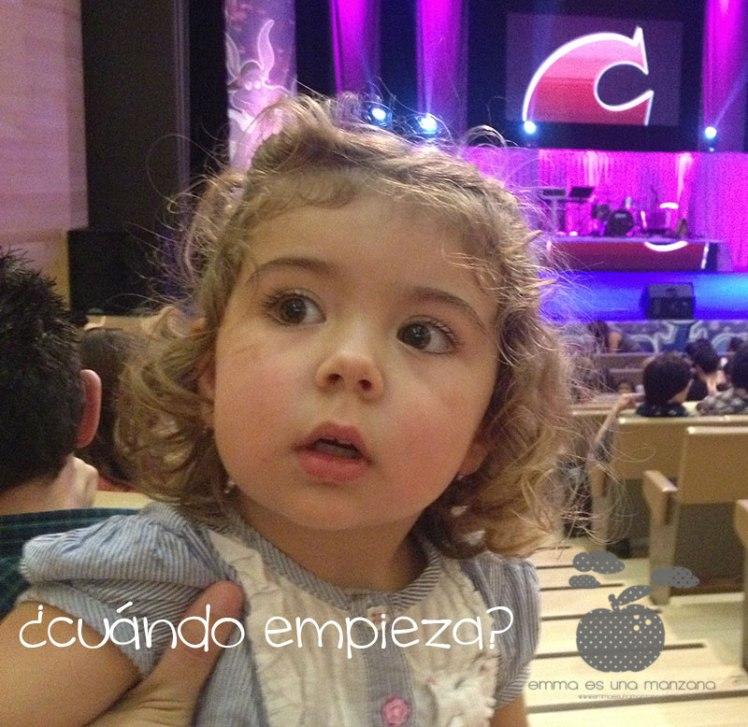 Emocisón antes de empezar, Emma es una manzana en Cantajuego
