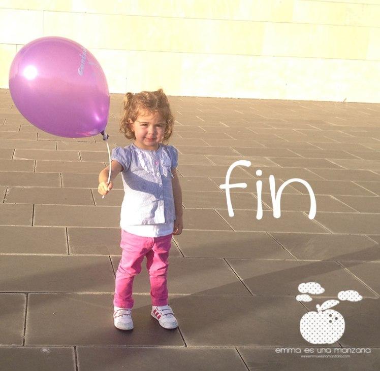 El globo no podía faltar, Emma es una manzana en Cantajuego