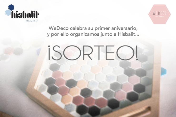 Sorteo de bandejas hexagonales personalizables de Hisbalit