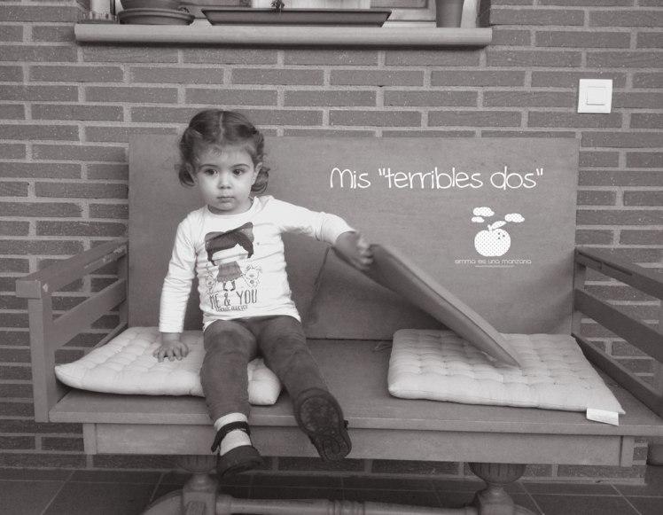 Los terribles dos, de Emma es una manzana