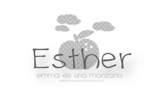 Esther para Emma es una manzana