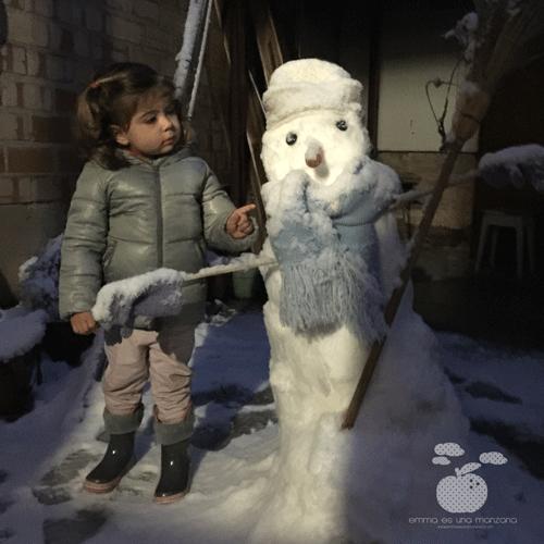 Emma y el muñeco de nieve