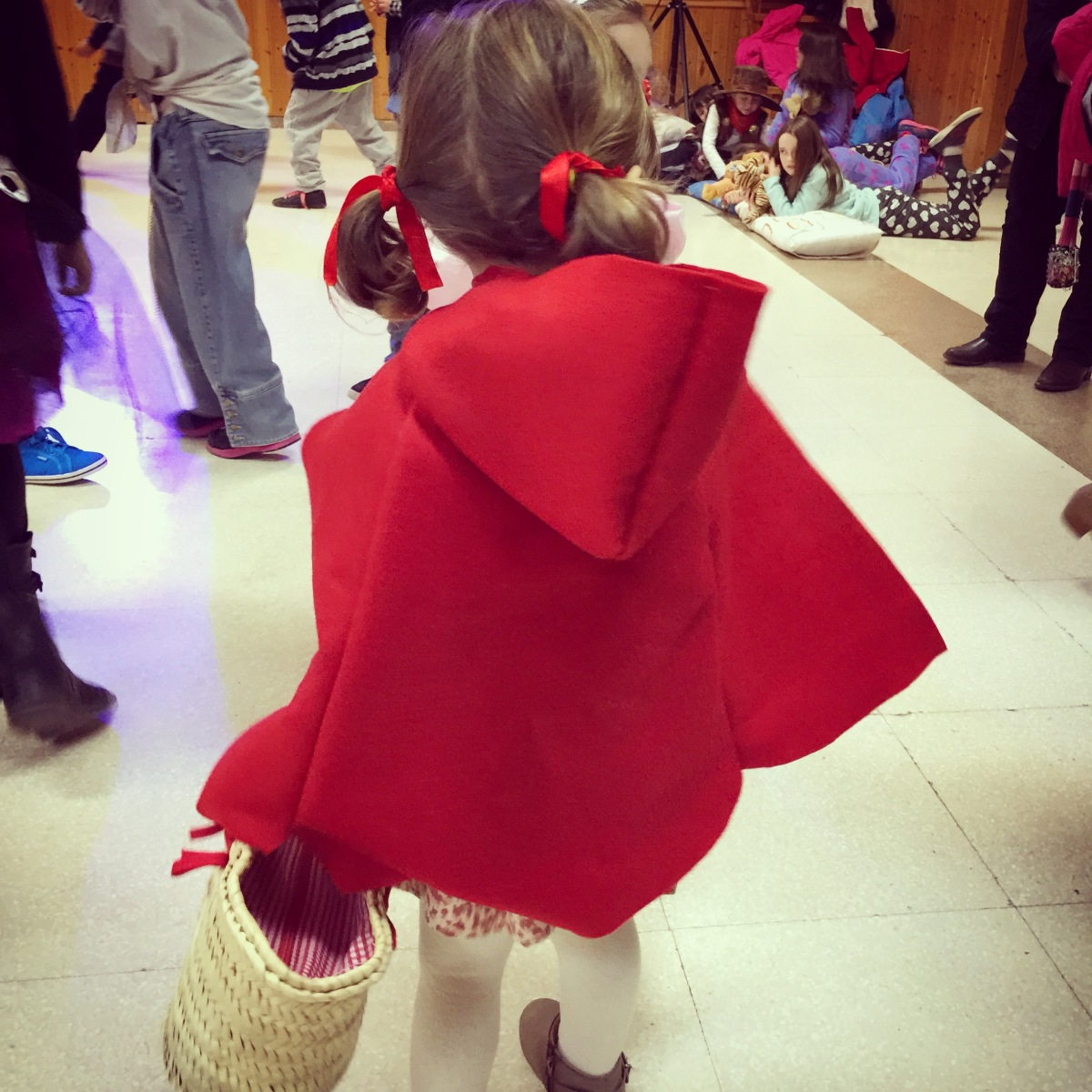 Inspiración de Carnaval: la de la caperuza roja
