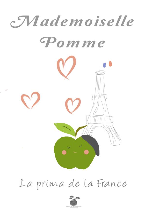 mademoiselle-pomme-La prima de la France