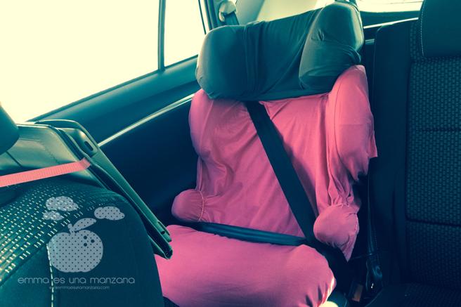 Viajar en coche con niños - la silla
