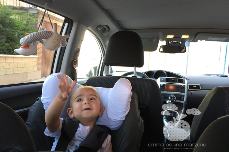 Viajar en coche con niños  - Juguetes