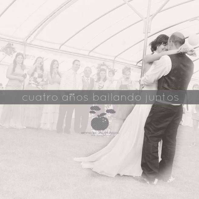 Cuatro años bailando juntos