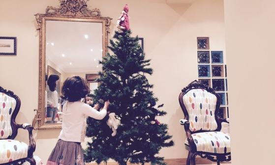 Emma en Navidad