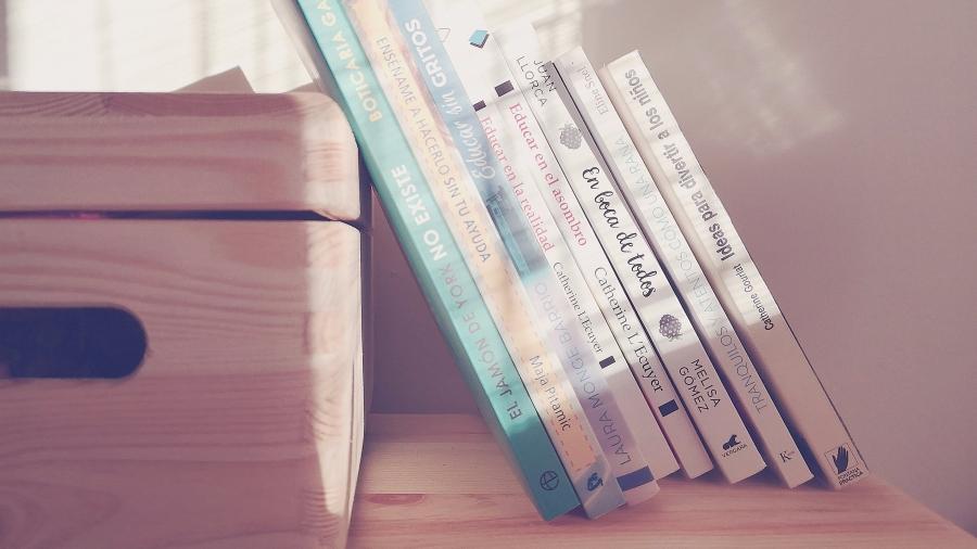 Siempre hay libros en casa sobre educación , nutrición, entretenimiento... Lo que no hay es tiempo para leerlos.